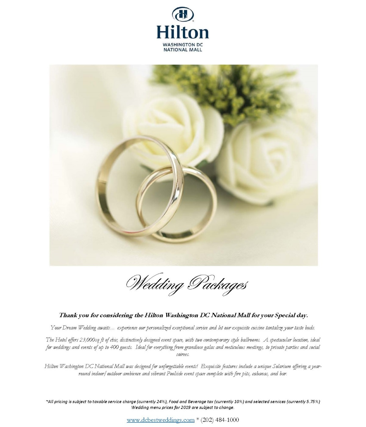 Complete Wedding Package Pdf